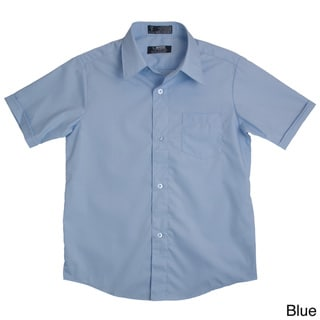 French Toast Boys Short-Sleeve Classic Button-Up Dress Shirt