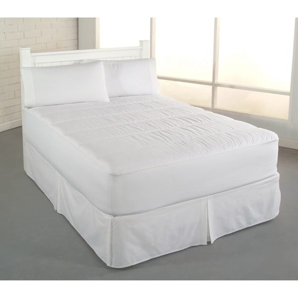 Rest Remedy Clean & Fresh 500 Thread Count Cotton Mattress Pad