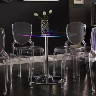 Caley Modern LED Round Dining Table