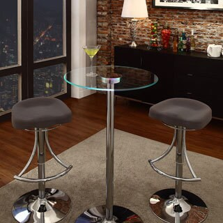 Caley Modern LED Counter Height Table