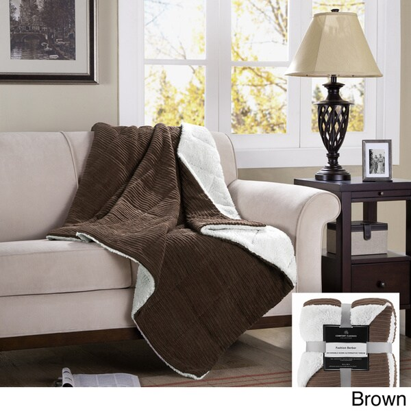 Premier Comfort Monterey Down Alternative Throw