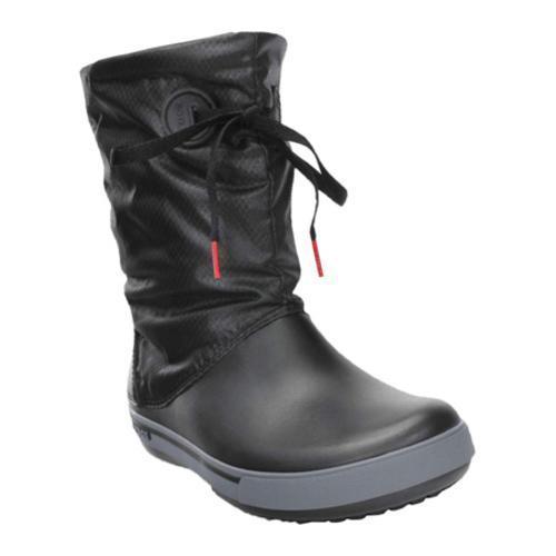 Women's Crocs Crocband II.5 Lace Boot Black/Charcoal
