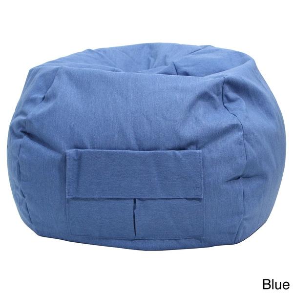 XXL Denim Look Bean Bag