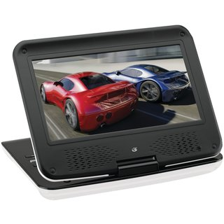 "GPX PD901W Portable DVD Player - 9"" Display - 480 x 234"