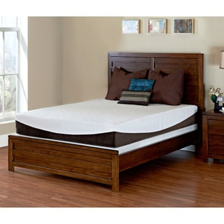 PureLife Glacier Gel-infused 10-inch Twin-size Memory Foam Mattress
