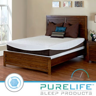 Purelife Glacier Gel-infused 10-inch Twin XL-size Memory Foam Mattress