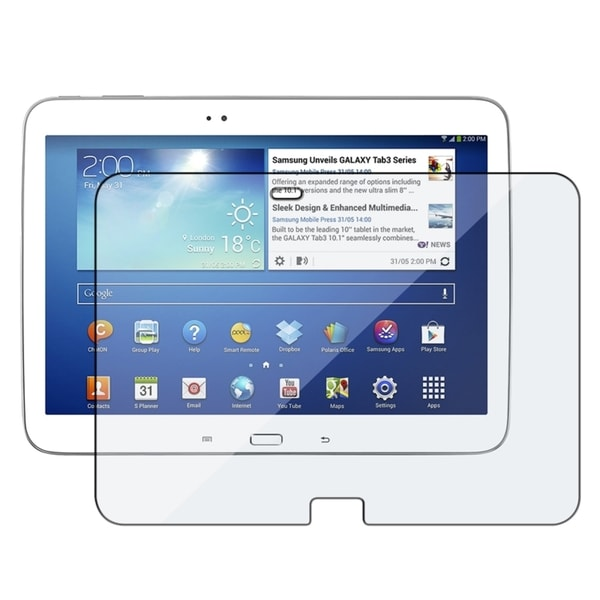 INSTEN Clear Screen Protector for Samsung Galaxy Tab 3 10.0