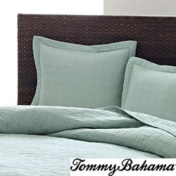 Tommy Bahama Aruba Blue 3-piece Cotton Quilt Set