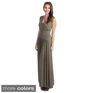 Amelia Women's Bat-Sleeve Knit Maxi Dress