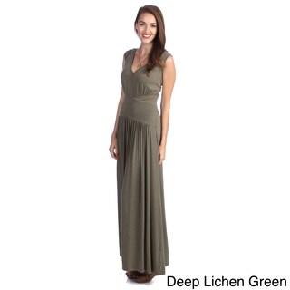 Amelia Women's Bat-Sleeve Knit Maxi Dress
