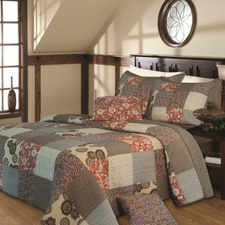 Greenland Home Fashions Stella Deluxe 5-piece Bedspread Set