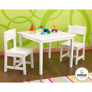 KidKraft White Aspen Table/Chair Set