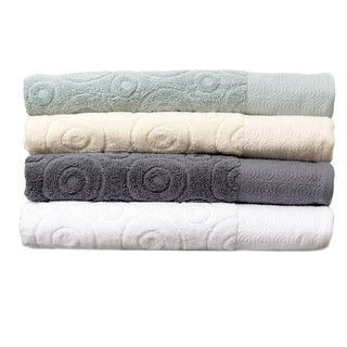 Jacquard Terry Towel Circle Design 6-PieceTowel Set