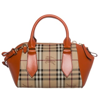 Burberry 3882437 Small Haymarket Blaze Satchel