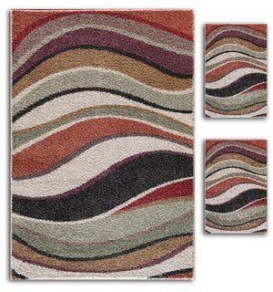 Primavera Multicolored Rugs (Set of 3)