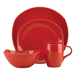 Dansk Classic Fjord 4-Piece Chili Red Place Setting