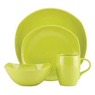 Dansk Classic Fjord 4-Piece Apple Green Place Setting