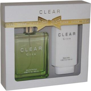 Intercity Beauty Company Clear Gren Women's 2-piece Gift Set