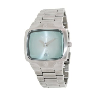 Nixon Men's Blue Dial Stainless Steel Watch