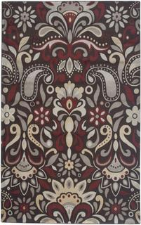 "Power-loomed Handicraft Imports Gibraltar Brown 100-percent Heat-Set Area Rug (7'10""x10'10"")"