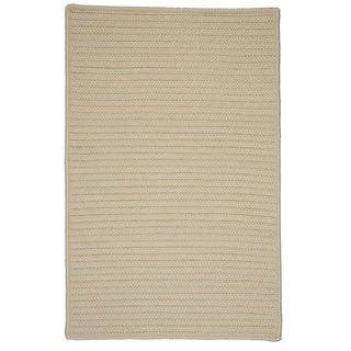 Solid Rectangle Rug Cream (8'x10')