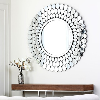 ABBYSON LIVING Radiance Round Wall Mirror