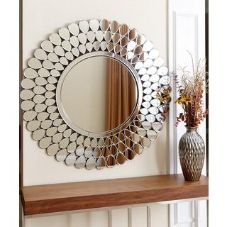 ABBYSON LIVING Radiance Round Wall Mirror
