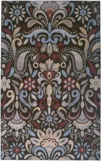 Power-Loomed Handicraft Imports Gibraltar Brown Heat-Set Polypropylene Area Rug (9'2 x 12'6)