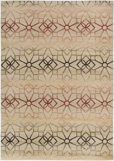 Power-Loomed Handicraft Imports Gibraltar Beige 100% Heat-Set Polypropylene Area Rug (9'2 x 12'6)