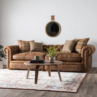 Franklin Leather Grand Sofa