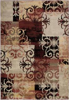 Power-Loomed Handicraft Imports Gibraltar Multi Heat-Set Polypropylene Area Rug (9'2 x 12'6)