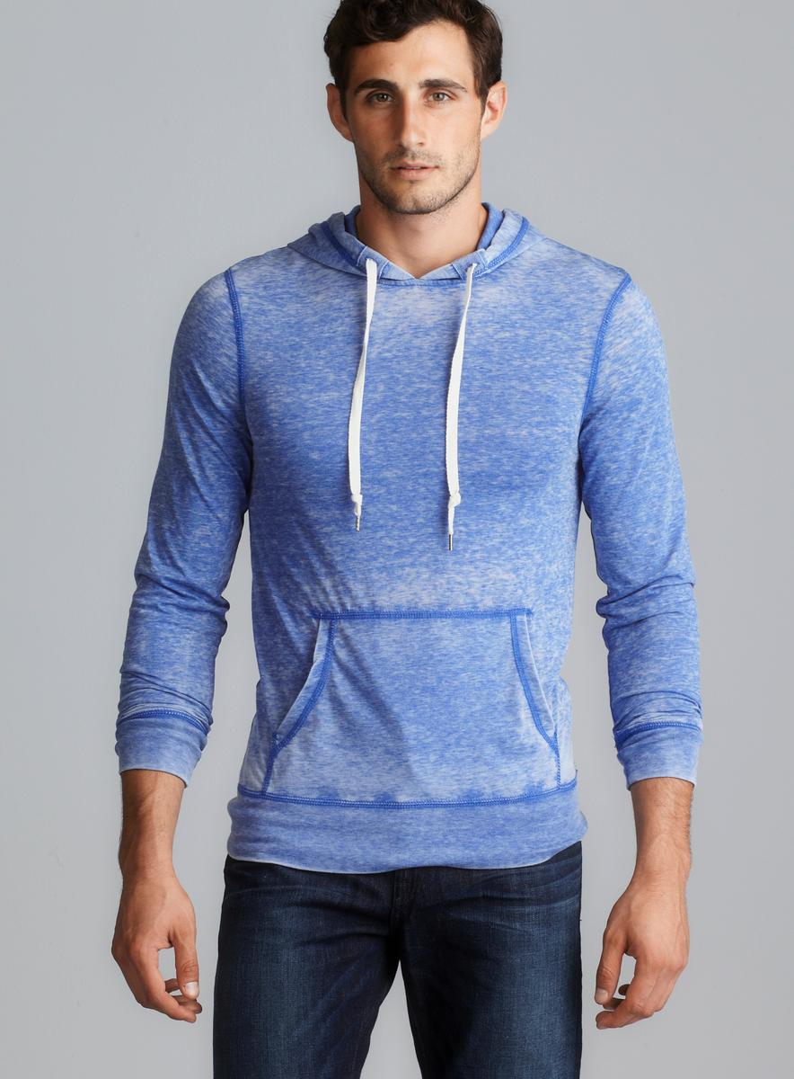 Colorfast Jersey Pullover Hoodie