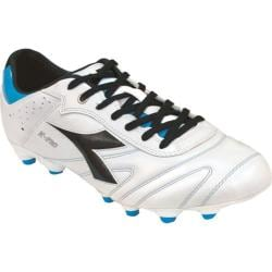 Men's Diadora Italica K Pro MG 14 White/Black/Royal