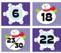 Snowflake/Snowman Calendar Cover-Up (Other book format)