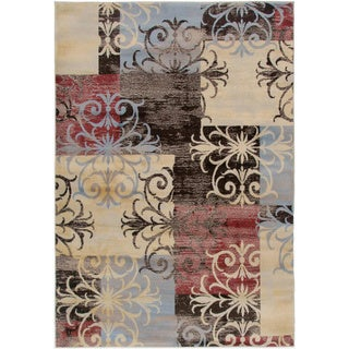 "Gibraltar Abstract Area Rug (9'2""x12'6"")"