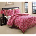 Tribeca Hot Pink 6-piece Comforter Set