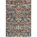 "Gibraltar Grey Abstract Area Rug (3'3""x5'3"")"