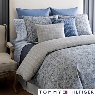 Tommy Hilfiger Princeton Paisley 3-piece Cotton Reversible Comforter Set