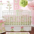 My Baby Sam Pixie Baby in Pink Crib Bumper