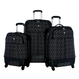 Olympia 'Quincy' 3-piece Hybrid Spinner Luggage Set