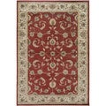 Gibraltar Red Area Rug (9'2 x 12'6)