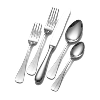 Wallace Home Blaine 45-piece Flatware Set | Overstock.com Shopping