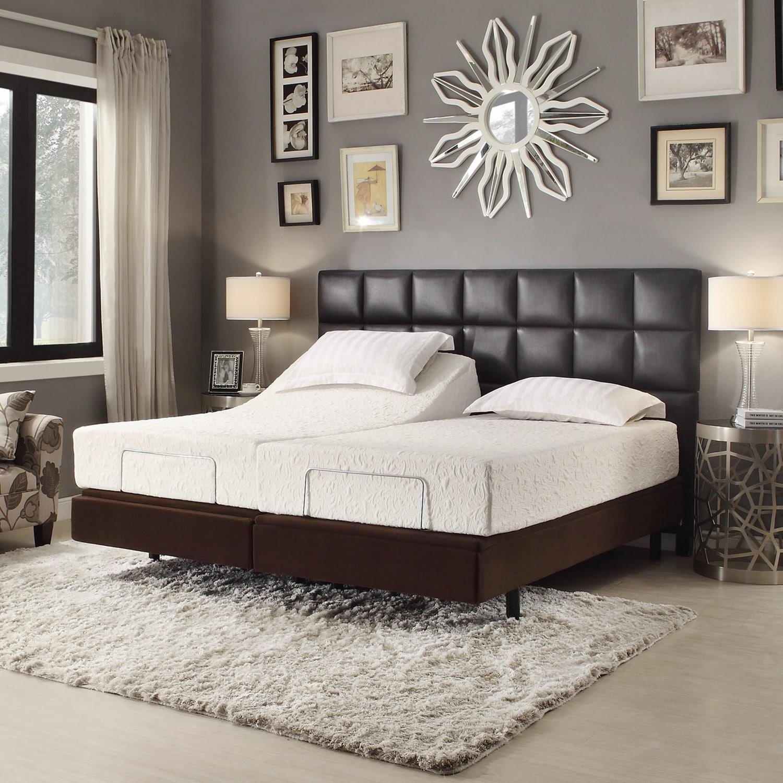 Inspire q toddz comfort electric adjustable split king - Bedroom sets for adjustable beds ...