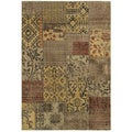 Gibraltar Multicolored Transitional Area Rug (3'3 x 5'3)