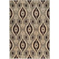 Gibraltar Beige Abstract Patterned Area Rug (7'10 x 10'10)