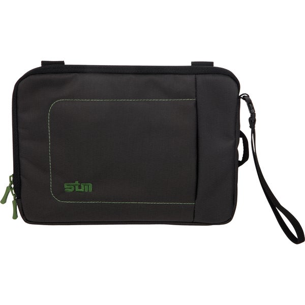"STM Bags Jacket Sleeve for 7"" tablet or iPad mini - Black/Green"