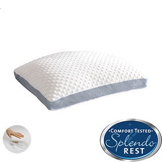 Splendorest Dreamshape Dot Reversible Memory Foam Pillow