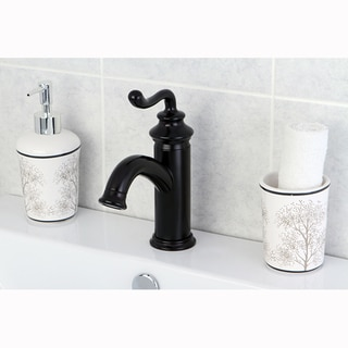 Single Handle Oil Rubbed Bronze Single Hole Bathroom Faucet