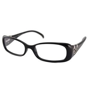 Fendi Readers Women's F847 Rectangular Black Reading Glasses