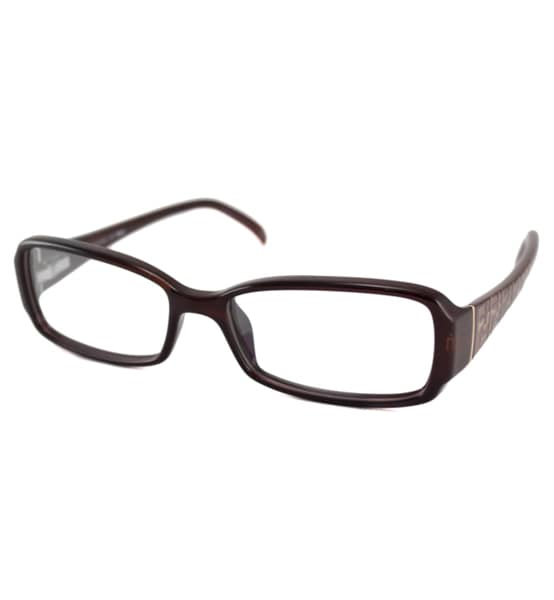 Fendi Readers Women's F936 Brown Rectangular Reading Glasses